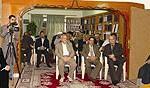 مشهد من مشاهد الاجتماع التأسيسي ومناسبة افتتاح المؤسسة