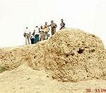 لجنة المسح الجيولوجي والآثاري في زيارة ميدانية لموقع صنّين في الحيرة جنوب النجف